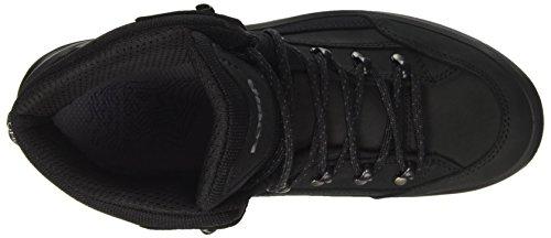 "LOWA chaussures de randonnée homme ""Renegade GTX Mid"" (310945 4285) Noir (Schwarz/schwarz)"
