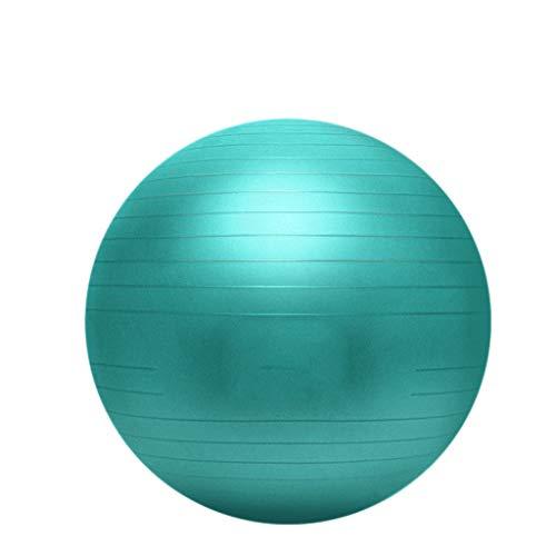 LF Stores - Fitnessgeräte Fitness Yoga Ball Verdickung Explosionsgeschützte Schwangere Hebamme Spezielle Fitness Gewichtsverlust Ball (Color : Green, Größe : 65CM)