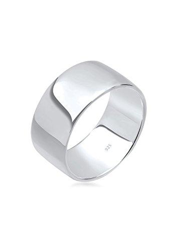 Elli Damen-Stapelring Silberring Bandring 925 Silber Gr. 58 (18.5) - 0603271413_58
