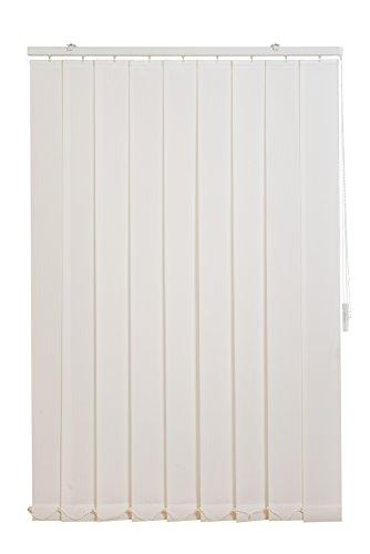 Sunl ines hw5007tende verticali fixmass, tessuto, bianco, 150x 180cm