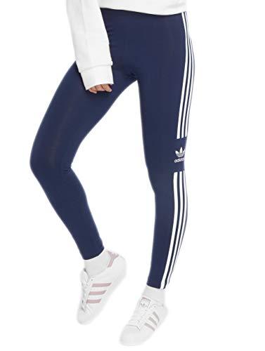 Adidas trefoil tight, leggins donna, dark blue, 44