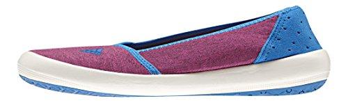 adidas Damen Boat Slip-On Sleek Turnschuhe, Blanco/Azul (Rubsup/Blatiz/Azuimp), 38 EU