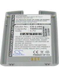 Akku für LG U900, 3.7V, 1000mAh, Li-Ionen