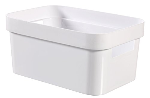 Curver 04748-N23-00 Boîte Infinité, Plastique, Blanc,26x18x12 cm