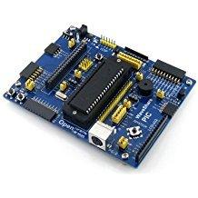 NGW-1pc PIC Board PIC16F877A-I/P PIC16F877A PIC16F PIC Evaluation Development Board Kit (Development-board Pic)