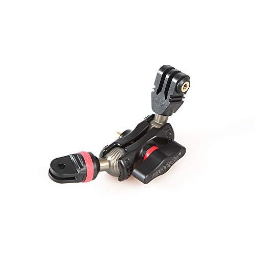 iSHOXS Small Grab Pro, Flexible Verlängerung aus Aluminium für GoPro kompatible Kamera-Halterungen - Kugelköpfe aus Aluminium (40mm (Pro))
