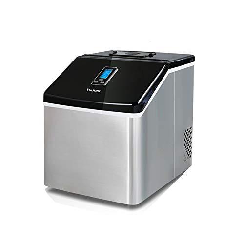Tragbare Hocheffiziente Eismaschine, Kompakte Tisch-Eismaschine, 24 EiswüRfel In 20 Minuten, Ideal FüR Den Heim-, BüRo-, Bar- Und Sonstigen Gewerblichen Gebrauch -2,2 L