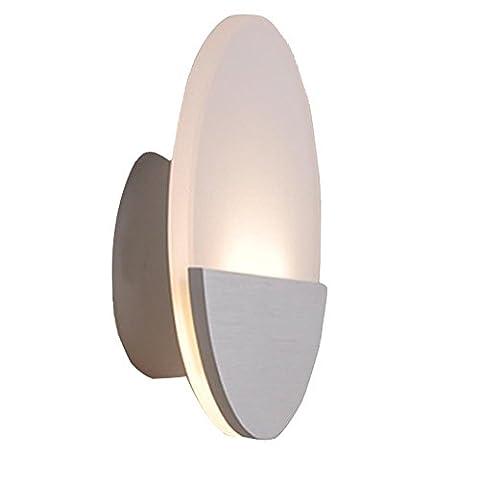 Applique Moderne Simplicité européenne Lumière intérieure pour Salon, Chambre, Salle d'étude, Lampe de chevet , warm white