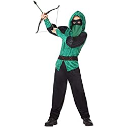 Atosa-56937 Disfraz Arquero, Color Verde, 5 a 6 años (56937)