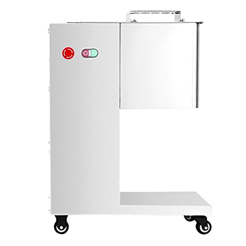 SucceBuy Fleisch Schneiden Maschine Kommerziell 500KG/hour Fleisch Slicer Maschine 3MM Klinge Elektrisch Fleisch Cutter Mit Rolle