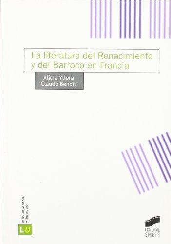 Literatura del Renacimiento y del barroco en Francia Cover Image