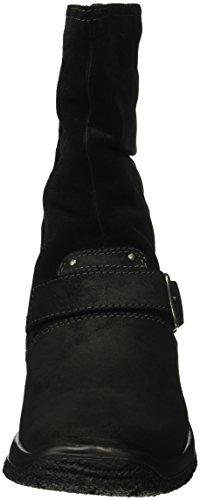 Legero - Trekking, Stivali a metà gamba con imbottitura pesante Donna Nero (Nero (Nero KOMBI 02))