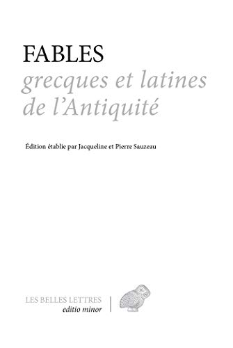 Fables grecques et latines de l'Antiquité (Editio minor t. 5)