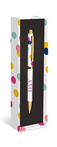 Fashion Pen: Best Day Ever - Modischer Kugelschreiber: Bester Tag überhaupt: Unser praktischer Kugelschreiber in der dekorativen Geschenkverpackung (Kugelschreiber in der Geschenkverpackung)