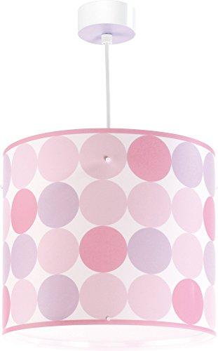 Dalber Colors - Lámpara colgante, color rosa