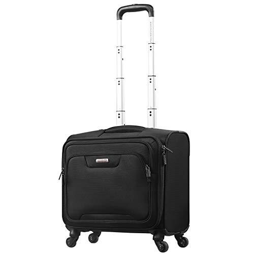 Rolling Overnight Laptop Bag, Geschäftsreisen Rolling Overnighter Case Trolley für Damen und Herren - 43cm * 25cm * 44cm * 30L -