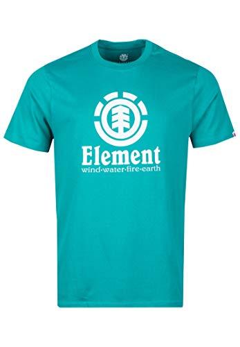 Vertical T-Shirt - Dynasty Green Größe: M Farbe: Dynasty Green -