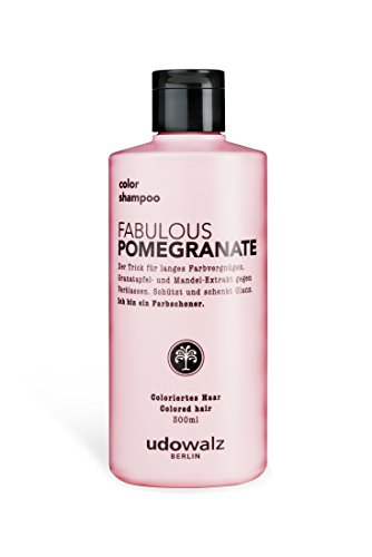 Udo Walz Hairfood Color Shampoo Fabulous Pomegranate, 1er Pack (1 x 300 ml)