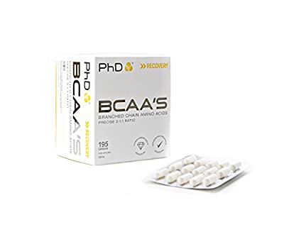 PhD Nutrition BCAA's, 195 Capsules from PHDNW