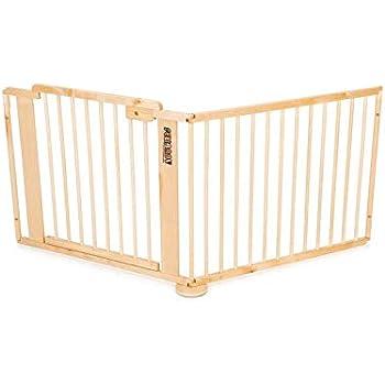 fafcf513fd40e6 ONE4all 1+1 - Barrière de sécurité modulable, barrière d escalier et  barrière pour porte