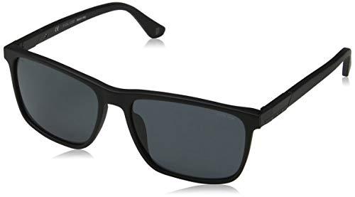 Police Herren WESTWING 4 Sonnenbrille, Schwarz (Matt Black), 58.0