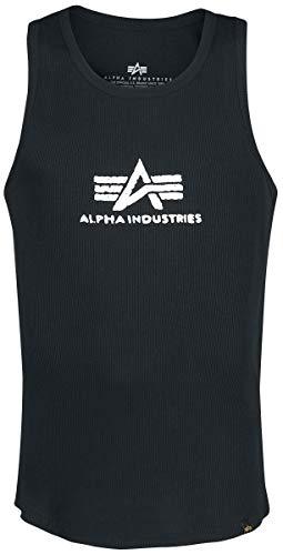 Alpha Industries Logo Tank Tank-Top schwarz M