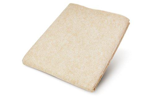 Anti-Rutsch-Vlies COMFORT ideal für Matratzen & Topper von Boxspring-Betten & Teppiche, beidseitiger Gleitschut rutschfest ohne Kleber, leicht anpassbar & zuschneidbar, universelle Unterlage gegen Verrutschen in 80 x 150 cm