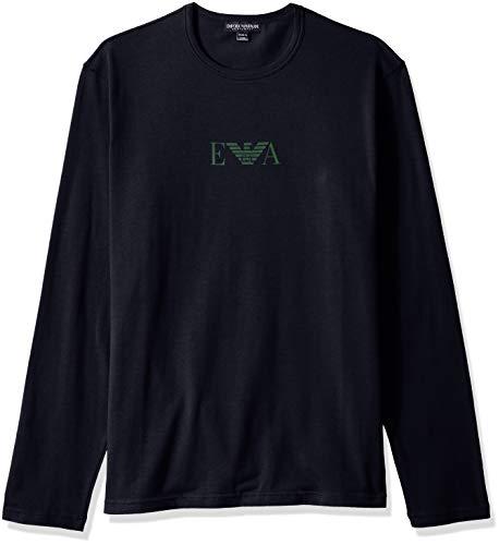 emporio armani jacke Emporio Armani Underwear Herren Pullover 111653 (00135 Marine, L)