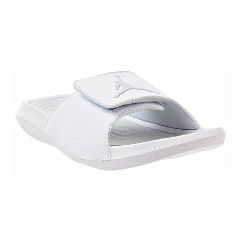 cadfc1e0f Nike Mens Hydro 6 White Pure Platinum Synthetic Leather Sandals 41 EU