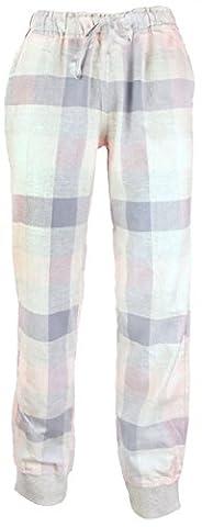 By Louise von MG-1 Damen Flanell Pyjamahose Loungewear Sleepwear Farbwahl, Grösse:M - 38;Farbe:DESIGN 02
