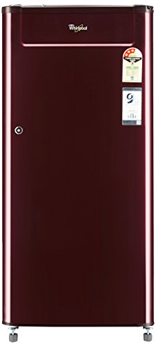 Whirlpool 190 L 3 Star Direct Cool Single Door Refrigerator(205 GENIUS CLS 3S WINE ALPHA-E, Wine Alpha)
