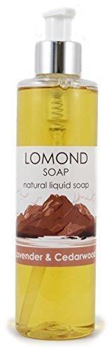 Lomond SOAP Lavanda & Cedro Palma Sin Aceite Natural Vegano jabón líquido para PIEL SENSIBLE 250ml