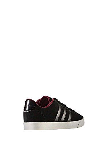 adidas Damen CF Daily QT W Fitnessschuhe Schwarz (Negbas / Negbas / Rubmis)