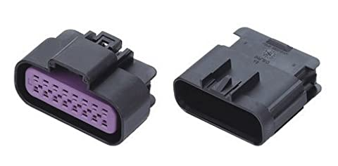 CNKF 10 Sets 16 pin way DELPHI plastic male female waterproof GT-150 series sealed auto connector