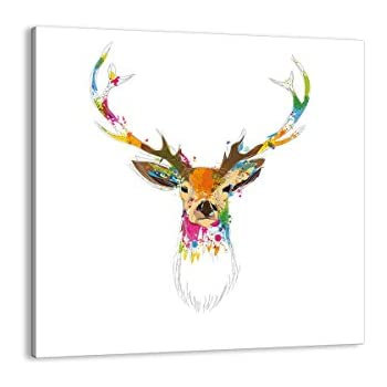 Amazon.de: KunstLoft® Acryl Gemälde 'Kunterbunter