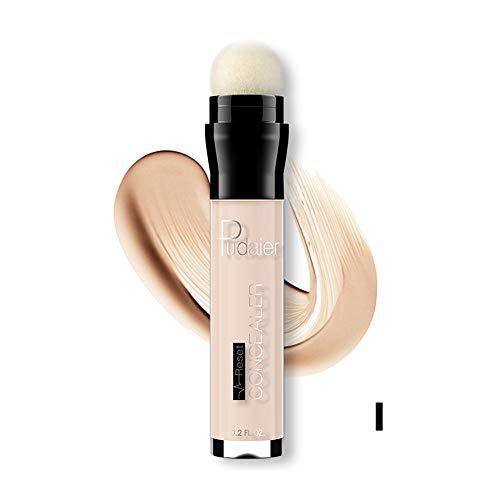 erthome Face Eye Foundation Concealer Highlight Contour Pen Stick Makeup Natural Cream Profi Grundierung/green base korrigiert Augenringe (Stick Nars Concealer)