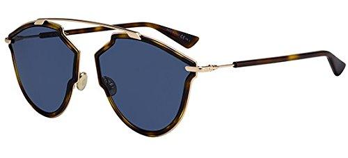 Dior Sonnenbrillen REAL RISE DARK HAVANA/BLUE Unisex