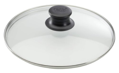 ELO 64117 Glasdeckel/16 cm/Glas/Edelstahl
