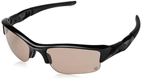 Oakley Herren Sonnenbrille Flak Jacket XLJ, Gr. One size, Polblkw/Vr50Trans