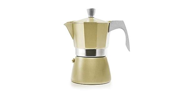 IBILI 623902 Cafetiere Expresso Evva 11 x 9 x 15 cm Aluminium Beige