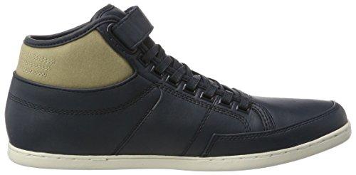 Boxfresh Swich Sh Lea/Cnvs Nvy/Kelp, Sneaker a Collo Alto Uomo blu (blu)