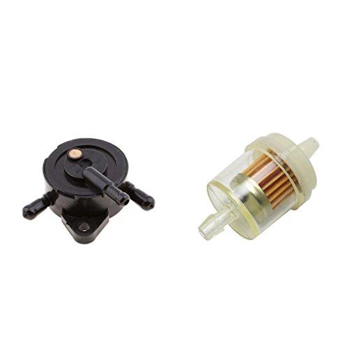 Baoblaze Elektrische Kraftstoffpumpe + Filter Für 2005-2018 Kawasaki Mule 610 4x4, 2005-2015 -