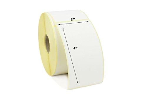 label Metrics-5,1x 10,2cm Thermodirekt Etiketten (50x 100mm) Drucker Etiketten. Für Zebra, Citizen, satō, 1 (2x1 Drucker Zebra Etiketten)