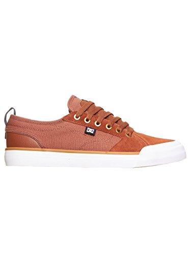 DC Shoes Evan Smith S - Chaussures de skate pour Homme ADYS300203 Marron - Tobacco
