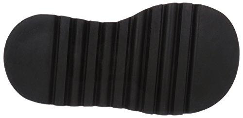 Demonia STOMP-10 Blk Canvas-Vegan Leather