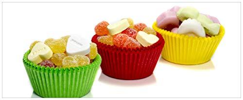 ndes Poster - Sweets - Süßigkeiten-Muffins in der Küche in Premiumqualität, Größe: 50 x 125 cm ()