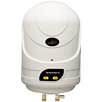 V-Guard Sprinhot 15 Litre Water Heater (Ivory)