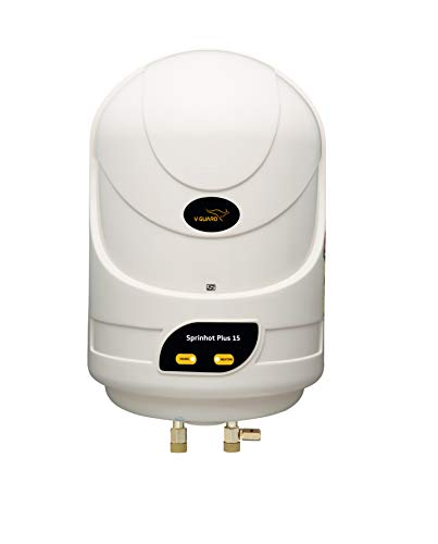 V-Guard Sprinhot 15 Litre Water Heater (Ivory)