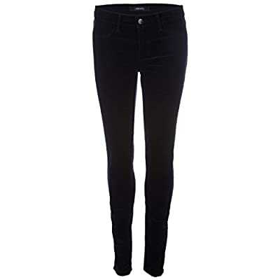 Black J Brand Womens Mid Rise Super Skinny Stretch Jeans