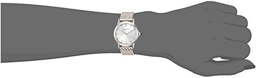 982e8227fba7 Emporio Armani Swiss Made mujer ars7001 pantalla analógica Swiss Quartz  Rose Gold-tone reloj …